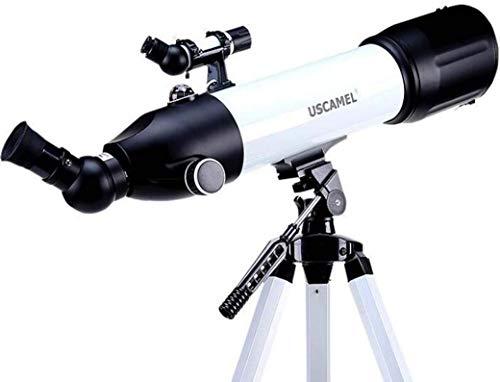 LFDHSF HD-Landschaftsastronomie-Weltraumteleskop mit Stativ für eine 360-Grad-Einstellung. Professionelles Studententeleskop für Kinder mit Sternenbeobachtung