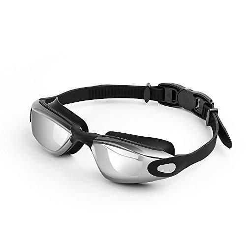 7637262e990e fmobonus occhiali da nuoto, occhialini nuoto con ponte nasale morbido anti-appannamento  protezione uv