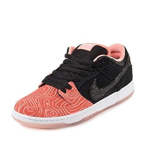 Nike Herren Dunk Low Premium SB Skaterschuhe, Rosa / Schwarz / Weiß (Atomic Rosa / Schwarz-Weiß), 44 EU