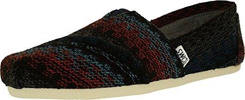 Classic Espadrilles (TOMS Espadrilles Classics Rust Multi Stripe Woven Stripe Damen - 39, Mehrfarbig)