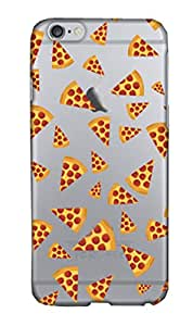 Coque Rigide pour Apple iPhone 5/5S Motif pizza Transparent