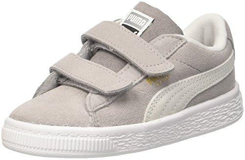 uede Classic V Inf Sneaker, Grau (Ash White), 25 EU ()