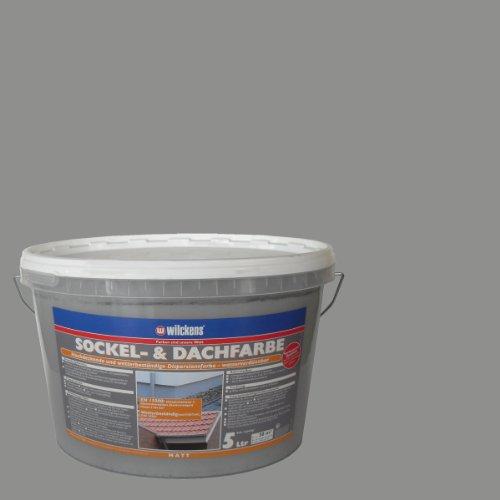 Wilckens Sockel- und Dachfarbe, Steingrau, 5 L 13373000090 Test