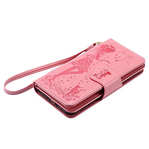 PU Silikon Schutzhülle Handyhülle Prägung Painted pc case cover hülle Handy-Fall-Haut Shell Abdeckungen für Apple iPhone 7 Plus (5.5 Zoll) +Staubstecker (1FK) 9