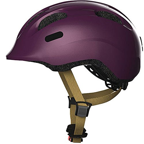 Abus Smiley 2.0 Fahrradhelm, Royal Purple, M