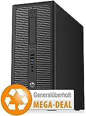 hp EliteDesk 800 G1 T, Core i5, 8 GB, 500GB HDD, Win 10 (generalüberholt)