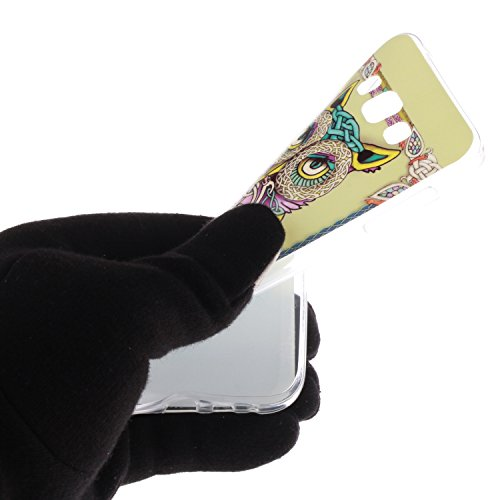 Nancen Samsung Galaxy E5 / E500F (5,0 Zoll) Ultra Slim Weich TPU Material Design Silikon Handytasche Schutzhülle, Painted Mode Anti-Kratz Handyhülle Case Hülle Backcover Tasche