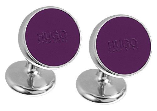 HUGO 50289289 E-Color Manschettenknöpfe Lila