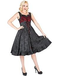 H /& R London Abito Hearts /& Roses LONG DRESS 9038