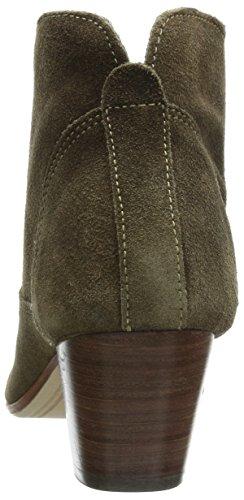 Hudson Kiver, Damen Kurzschaft Stiefel Beige (Beige)