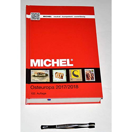 Goldhahn Michel-Katalog Europa 2017/18 Band 7 (EK7) Osteuropa Plus Gratis Briefmarken Pinzette Spaten Briefmarken für Sammler