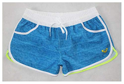 New 2019 Fashion Short Femme Spandex Swimming Short Sport Beach Surf Running Shorts for Women Boardshorts Loose Casual Plus Size Blue L