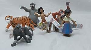 Bullyland 7 Figuren Dschungelbuch