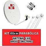 Diesl - Kit Parabólica 60cm + LNB