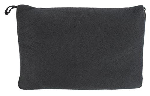 praktisches 2in1 Reise-Kissen (umwandelbar zur Decke), verschiedene Farben (TS-B-1001)