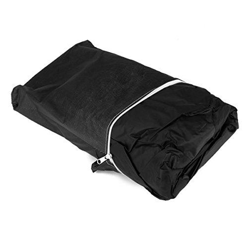 ULTNICE Wasserdichte BBQ Grill Abdeckung Schutzgitter Deckel 190cm - Größe XL (schwarz)