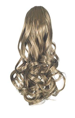 Love hair extensions gushy bird - extension di capelli sintetici a coda di cavallo, con fermaglio a pinza