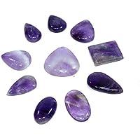 Natural Amethyst Set Of 25 Cabochon Size:18-25 mm Chakra Healing Crystal, Meditation Stones, Yoga Crystals, Spirituality... preisvergleich bei billige-tabletten.eu