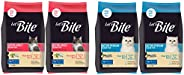 Let's Bite Active Adult(+1 Year) Dry Cat Food, Ocean Fish, 500gm (Buy 1 GET 1 Free) and Let's Bite Act