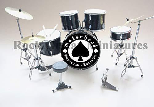 Rgm414 Motorhead Miniatur Schlagzeug Set (Miniatures Motorhead)