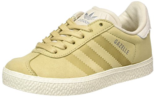 wholesale dealer 51aee d6c40 adidas Gazelle Fashion, Zapatillas Unisex Niños, Marrón (Linen Khaki Clear  Brown