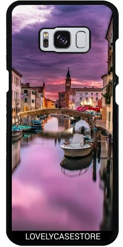 hulle-fur-samsung-galaxy-s8-canal-visit-venedig-italien-boot-lagune-gondole