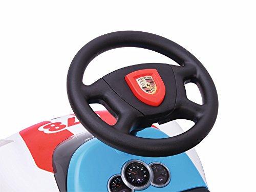 BIG Spielwarenfabrik 800056348 - Baby-Porsche Premium, Rutschfahrzeug, weiß - 5
