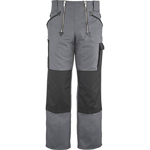 Zunfthose Canvas COOL GRAU mit Kniepolstertaschen, JOB Grösse 64