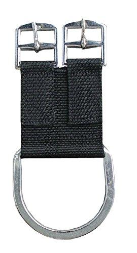 AMKA Sattelgurt Converter aus Nylon | Adapter für Sattelgurte 1 Stück Nylon 2-Buckle Saddle Girth Converter (Cinch) (Nylon Western-gurt)