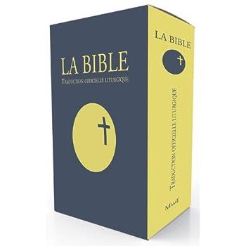 La Bible : Traduction officielle liturgique, Edition cadeau