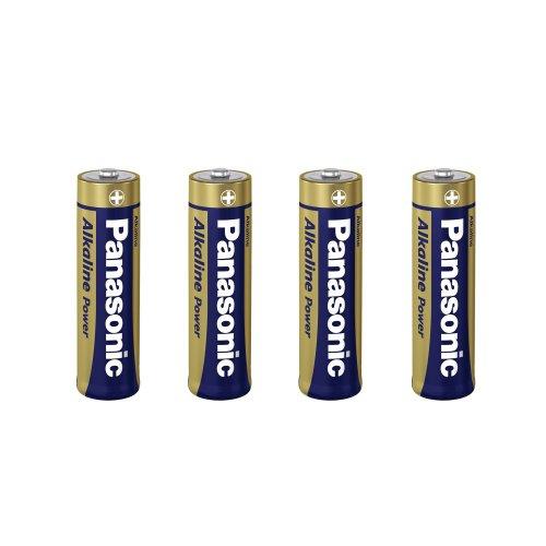Preisvergleich Produktbild Panasonic LR6APB / 8P Alkaline Power Bronze Batterien AAA Micro