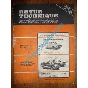 RTA0374 - REVUE TECHNIQUE AUTOMOBILE LANCIA BETA Berlines-Coupés et HPE de 1300 à 2000 cm3