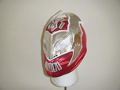 Kostüm Cara Wwe Sin - Sin Cara rot WWE Wrestling Maske Stil Kostüm Verkleidung Kostüm Outfit Wrestlemania 2013 Etiketten Team Anzug, Ausrüstung