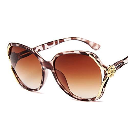 Banbie8409 Frauen polarisierten Sonnenbrillen Fashion Eyewear weibliche Sonnenbrillen Shades Goggles-Leopardenmuster-