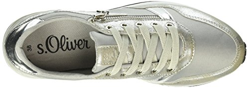 s.Oliver Damen 23635 Sneakers Silber (SILVER 941)
