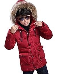 Bambini Ragazzi Parka E it Abbigliamento Amazon RwpSqH6x