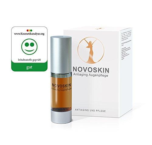 Augenpflege Serum von NOVOSKIN - NOVOSKIN Antiaging Augenpflege Serum mit Hyaluronsäure, speziellem...