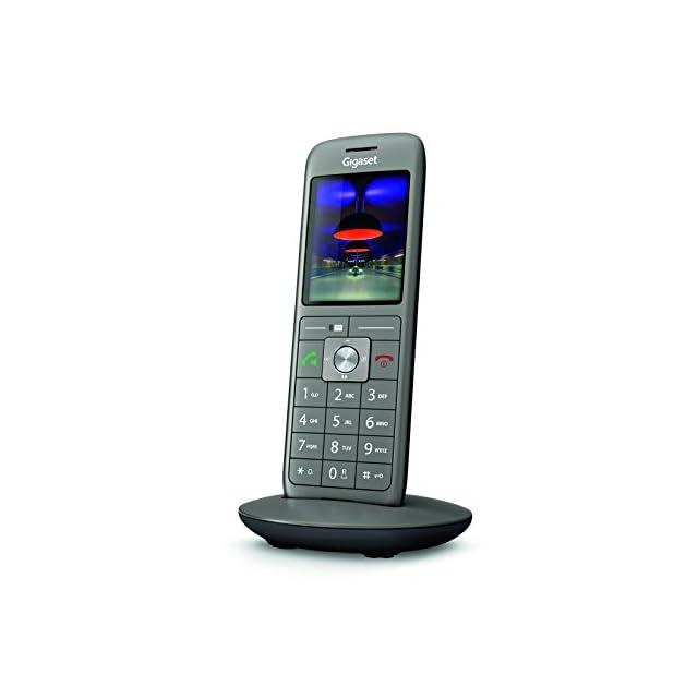 ... Gigaset CL660HX - Téléphone fixe sans fil - combiné supplémentaire - Gris  Anthracite b01011bd6d27