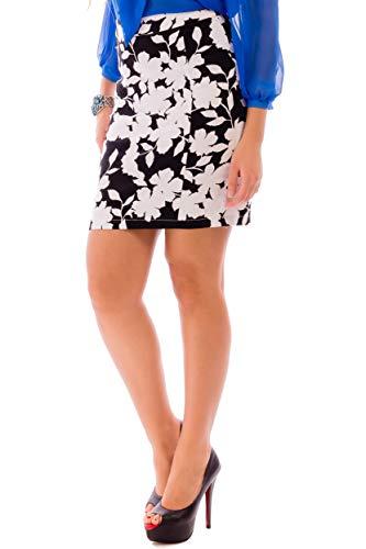 Sommerrock Damen Midi Bleistift Röcke Midi Rock A Linie Weiß Minirock Jeans - Stiftrock Damen Jeans Mini Rock Damen Schwarz - Bleistiftrock Damen Knielang Minirock Damen Elegant Größe 40 (X-Large) Sch -