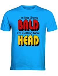 IM NOT GOING BALD IM GETTING MORE HEAD TOP MENS FUNNY NT SHIRTS NEW TREND HIPSTER DOPE ALL SIZES