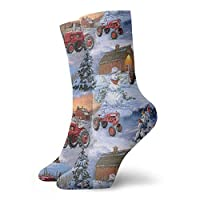 REordernow International Harvester Farmall Tractor Cotton Compression Socks for Men & Women - Best Graduated Athletic & Medical for Men & Women, Running, Flight, Travel