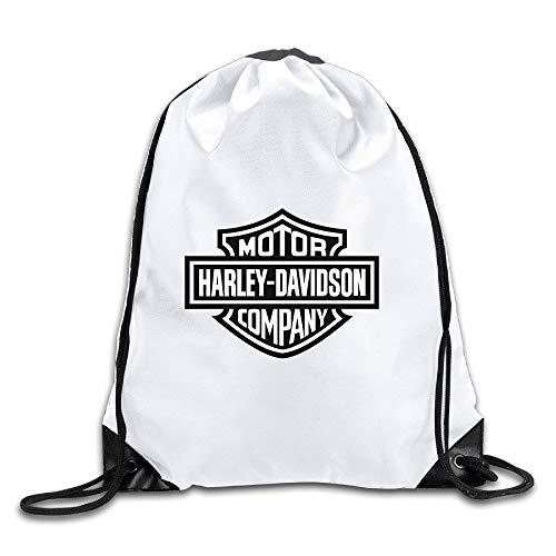 5a670334c2a600 FTKLSS Lightweight Foldable Bolsa con cordón Harley Davidson Logo  Drawstring Backpack Sack Bag/Travel Bags