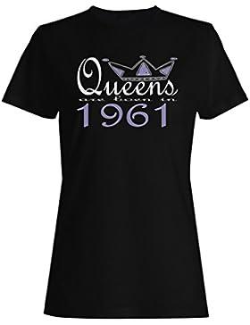 Nuevas reinas de diseño artístico nacen en 1961 camiseta de las mujeres b597f