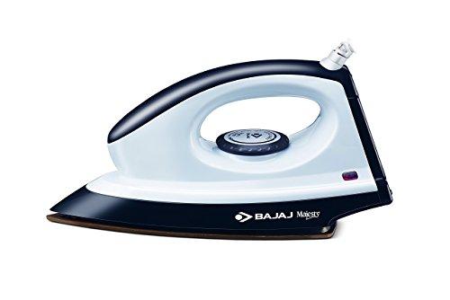 Bajaj Majesty DX 8 1000-Watt Dry Iron (Grey/White)