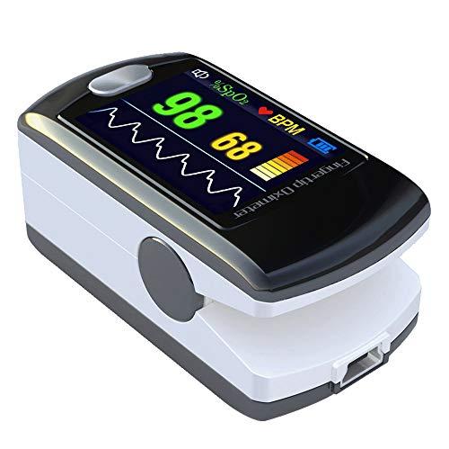 Fingerpulsoximeter Pulsoximeter Oximeter Fingertip Pulsmesser CMS-50E -