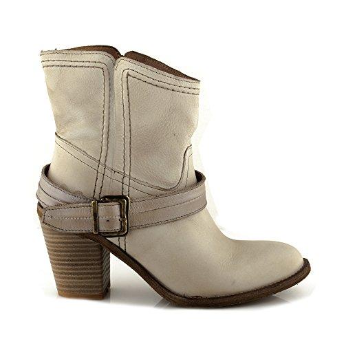 Felmini - Damen Schuhe - Verlieben Raffa 9992 - Cowboy & Biker Stiefel - Echtes Leder - Mehrfarbig Mehrfarbig