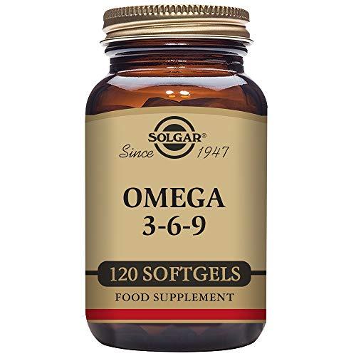 Solgar Omega 3,6 y 9-120 Cápsulas