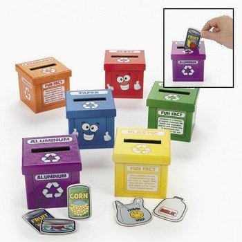 Aprender a reciclar cajas–Recursos Profesor de actividades y profesor Supplies
