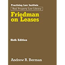 Friedman on Leases (6th Edition)