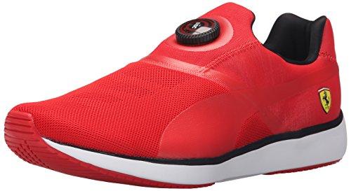 Puma Disc SF Synthétique Chaussure de Course Rosso Corsa-Black